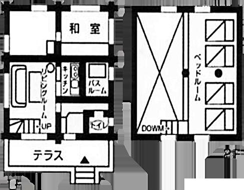 間取り図:ポルックス・ひこぼしの館
